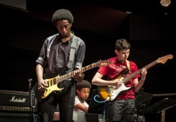 Newham Youth Fest guitars