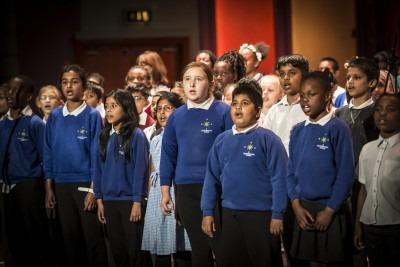 Newham Youth Fest singing