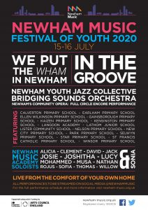 Festival of Youth Lineup Poster